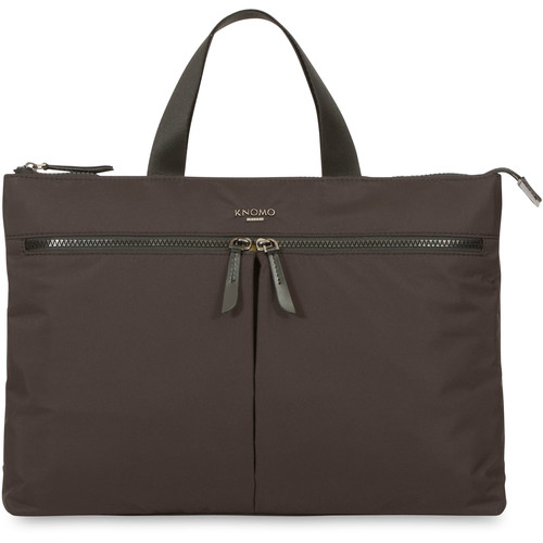 "KNOMO USA 14"" Copenhagen Laptop Briefcase (Black)"