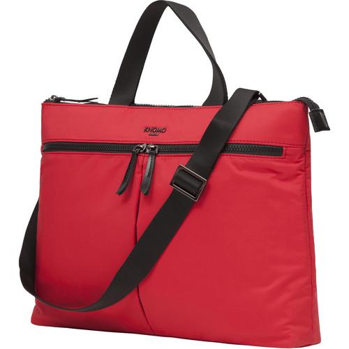 "KNOMO USA 14"" Copenhagen Laptop Briefcase (Red)"