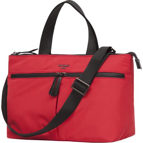 "KNOMO USA Antwerp Mini Cross-Body Bag 10"" (Red)"