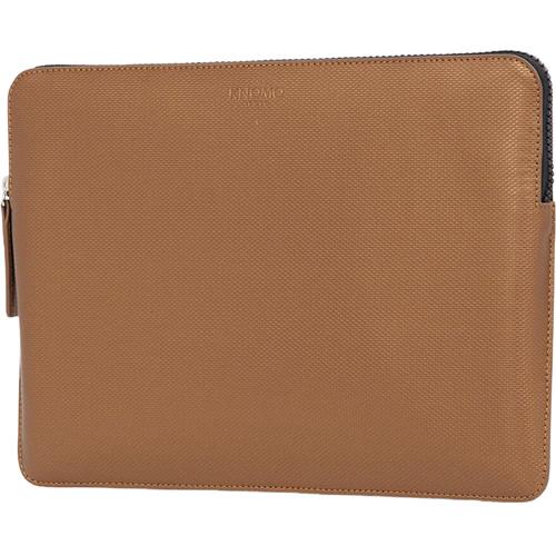"KNOMO USA 13"" Embossed Laptop Sleeve (Bronze)"