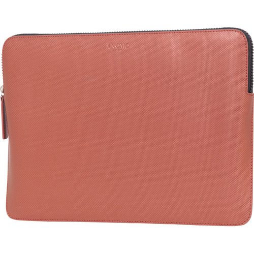 "KNOMO USA 13"" Embossed Laptop Sleeve (Copper)"