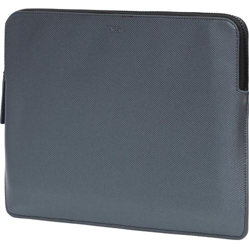 "KNOMO USA 13"" Embossed Laptop Sleeve (Silver)"