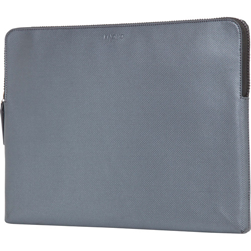 "KNOMO USA 15"" Embossed Laptop Sleeve (Silver)"