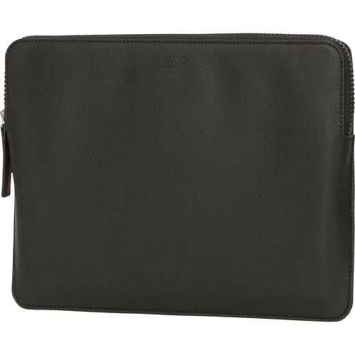 "KNOMO USA 12"" Embossed Laptop Sleeve (Black)"