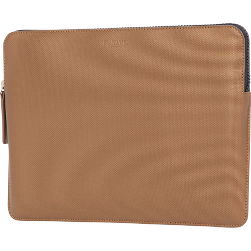 "KNOMO USA 12"" Embossed Laptop Sleeve (Bronze)"