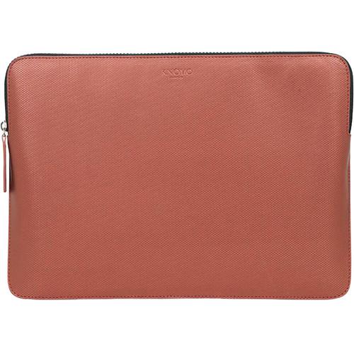 "KNOMO USA 12"" Embossed Laptop Sleeve (Copper)"