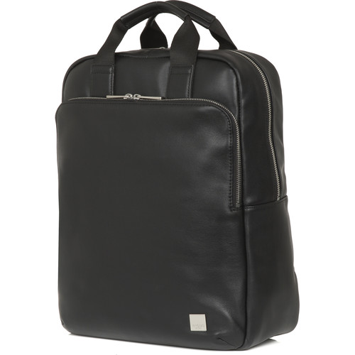 """KNOMO USA Dale Tote Backpack for 15"""" Laptop (Black)"""