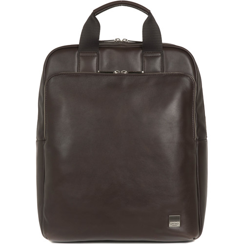 """KNOMO USA Dale Tote Backpack for 15"""" Laptop (Brown)"""