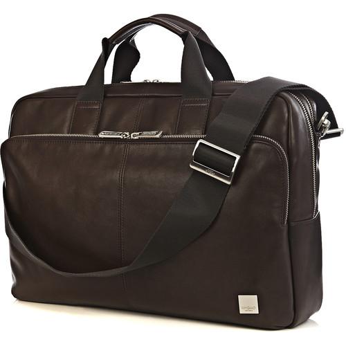 "KNOMO USA 15"" Amesbury Laptop Briefcase (Brown)"