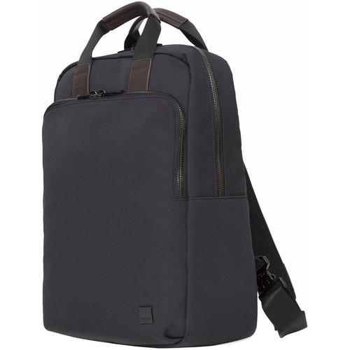 """KNOMO USA James Tote Backpack for 15"""" Laptop (Charcoal)"""