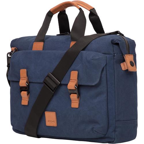 "KNOMO USA 15"" Tournay Laptop Briefcase (Navy)"