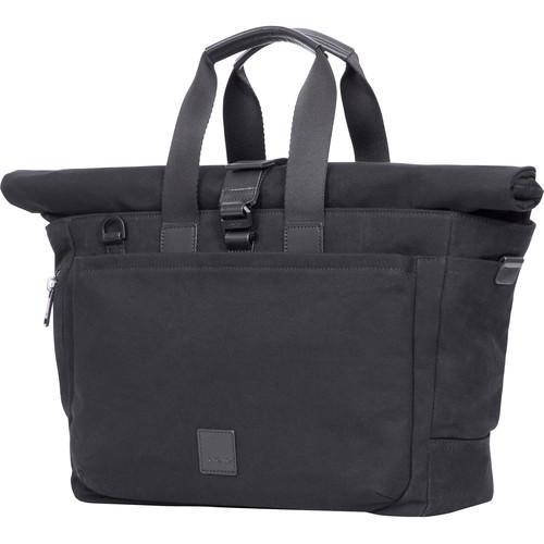 "KNOMO USA Sullivan Roll-Top Laptop Briefcase 15"" (Black)"