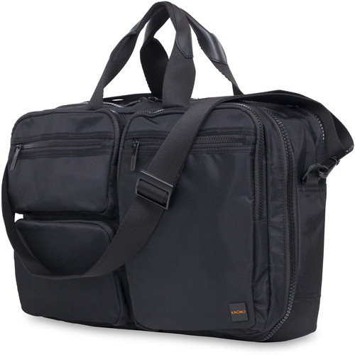 "KNOMO USA Wilton Briefcase for 15.6"" Laptop (Black)"