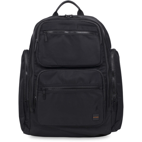 "KNOMO USA Denbigh Backpack for 15"" Laptop (Black)"