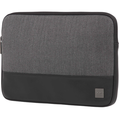 "KNOMO USA 13"" Herringbone Laptop Sleeve (Grey)"