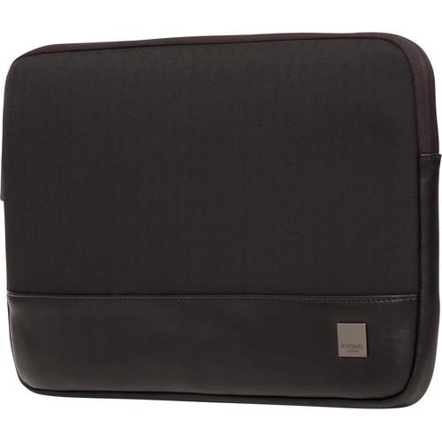 "KNOMO USA 13"" Herringbone Laptop Sleeve (Black)"