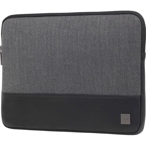 "KNOMO USA 14"" Herringbone Laptop Sleeve (Grey)"