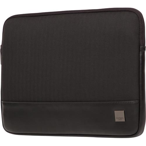 "KNOMO USA 14"" Herringbone Laptop Sleeve (Black)"