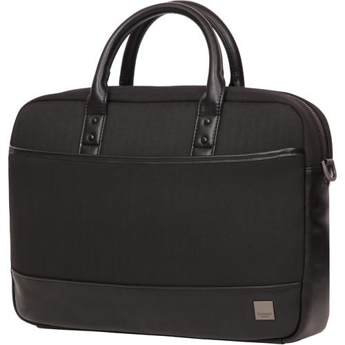 """KNOMO USA 15.6"""" Princeton Laptop Briefcase (Black)"""