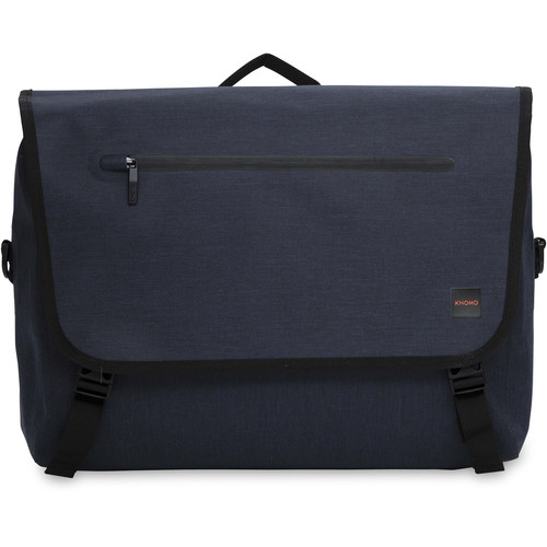 "KNOMO USA Rupert Messenger Bag for 14"" Laptop (Blue)"