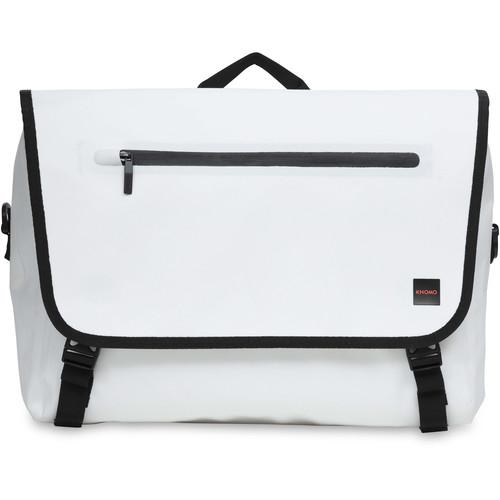 """KNOMO USA Rupert Messenger Bag for 14"""" Laptop (White)"""