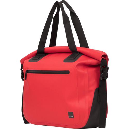 "KNOMO USA 14"" Hampton Water-Resistant Roll Top Laptop Bag (Red)"