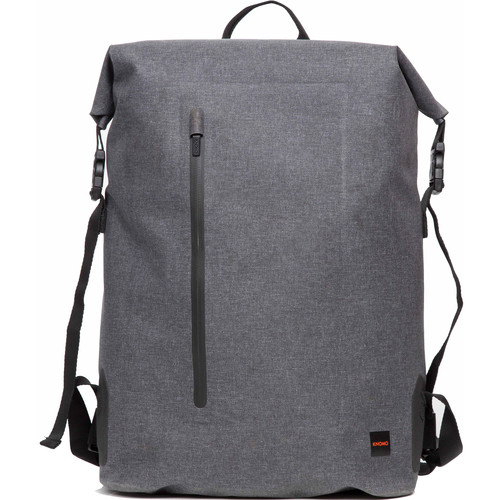 "KNOMO USA Cromwell Roll Top Backpack for 15"" Laptop (Gray)"
