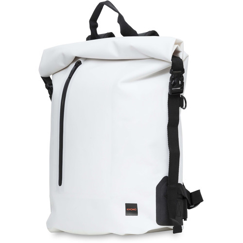 """KNOMO USA Cromwell Roll Top Backpack for 15"""" Laptop (White)"""