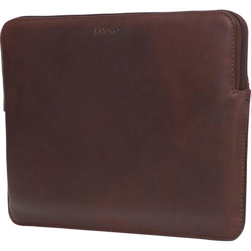 "KNOMO USA 12"" Laptop Sleeve-Fits Macbook (Brown)"