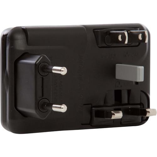 KNOMO USA Universal USB Adapter (Black)