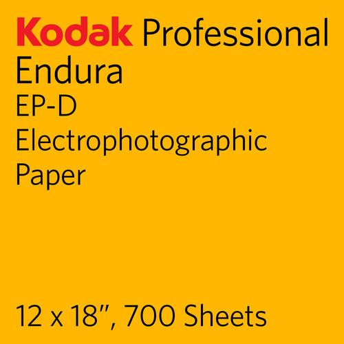 "Kodak PROFESSIONAL ENDURA EP-D Electrophotographic Paper (12 x 18"", 700 Sheets)"