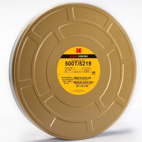 Kodak VISION3 500T Color Negative Film #5219 (35mm, 1000' Roll)