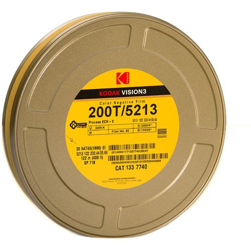 Kodak VISION3 200T Color Negative Film #5213 (35mm, 400' Roll)