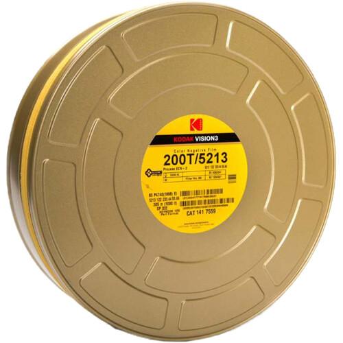 Kodak VISION3 200T Color Negative Film #5213 (65mm, 1000' Roll)
