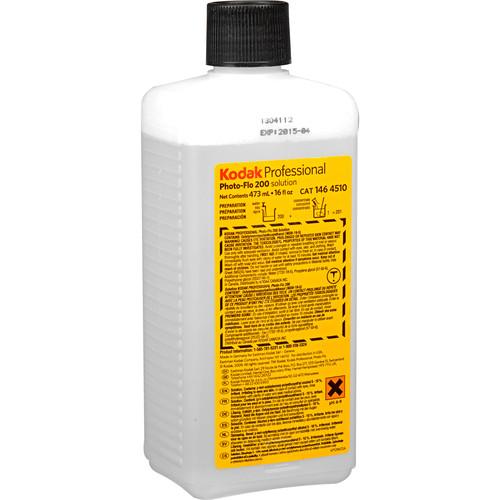 Kodak Photo-Flo 200 Solution (16 oz, 01/15 Expiration)