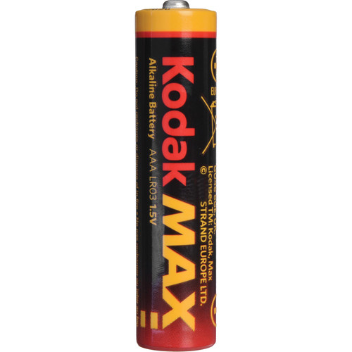 Kodak AAA 1.5V Alkaline Batteries (12-Pack)