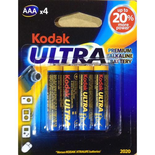 Kodak AAA 1.5V Ultra Premium Alkaline Battery (4-Pack)