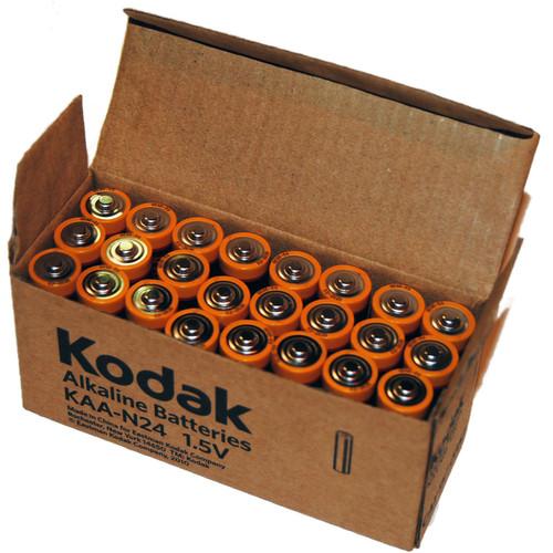 Kodak MAX KAA-N24 Alkaline AA Battery (Box of 24)