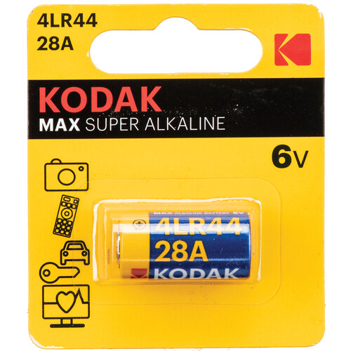Kodak K28A/4LR44 6V Ultra Alkaline Battery
