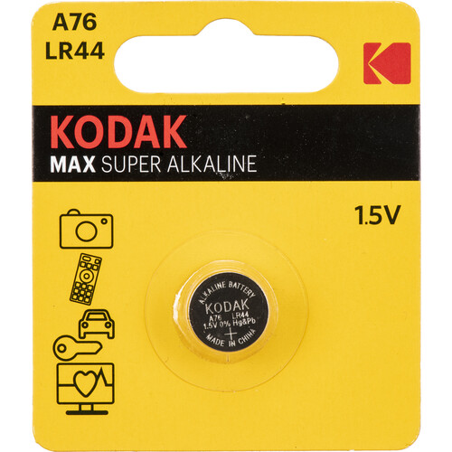 Kodak KA76 LR44 1.5V Ultra Alkaline Battery