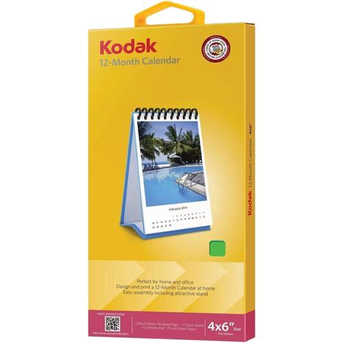 """Kodak 4"""" x 6"""" Calendar"""
