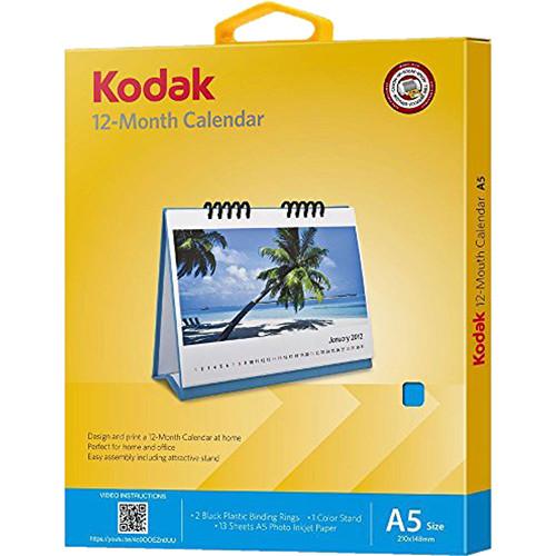 "Kodak 12-Month Calendar (5.8 x 8.3"")"