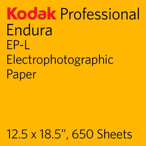 "Kodak PROFESSIONAL ENDURA EP-L Electrophotographic Paper (12.5 x 18.5"", 650 Sheets)"