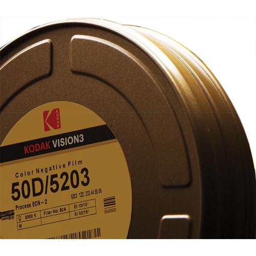 Kodak VISION3 50D Color Negative Film #5203 (65mm, 1000' Roll)