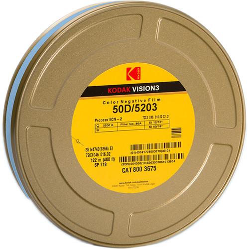 Kodak VISION3 50D Color Negative Film #5203 (35mm, 400' Roll)