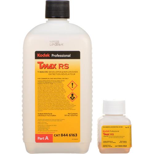 Kodak T-Max RS Developer & Replenisher for Black & White Film (To Make 1 gal, Expired 9/16)