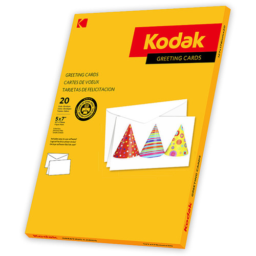 "Kodak Greeting Cards (5 x 7"", 20 Cards & Envelopes)"