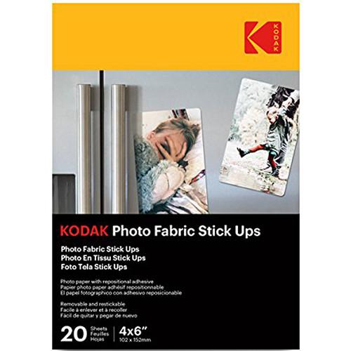 Kodak Photo Fabric Stick Ups (10 Sheets)
