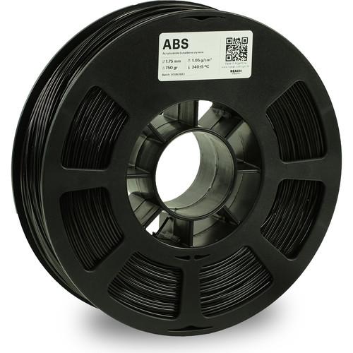 Kodak 1.75mm ABS Filament (750g, Black)