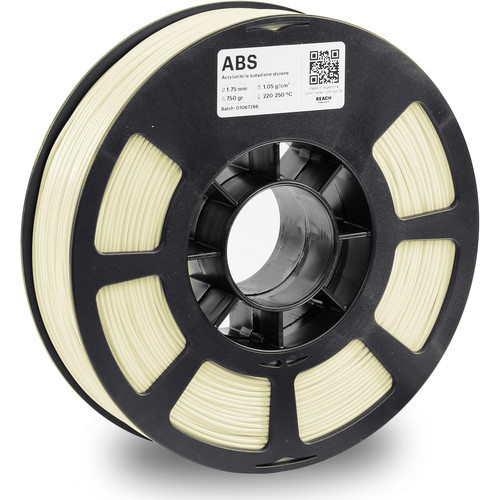 Kodak 1.75mm ABS Filament (750g, Natural)